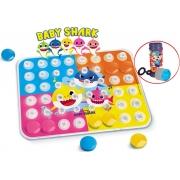 Encaixe Cor Baby Shark Brinquedo Infantil Bolhas De Sabão Criança Maior 24 Meses Menino Menina Colorido Elka