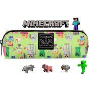 Estojo Escolar Infantil Minecraft DMW Meninos