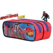 Estojo SOFT DMW Escolar Infantil Super Heroi Homem Formiga E A Vespa