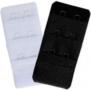 Extensor De Sutiã Kit Com 2 Unidades Cores Básicas Branco Preto Novo