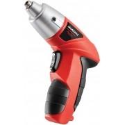 Ferramentas Parafusadeira Bateria Recarregável 4,8V Maleta Com 44 Acessórios Carregador Bivolt Luz LED Sem Fio Fpf05M Power Tools Mondial