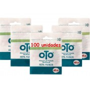 Filtro Pff2 Descartável 100 Unidades Para Máscara De Proteção OTO Lançamento