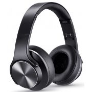 Headphone Bluetooth Duo Xtrax Preto Fone De Ouvido Sem Fio Caixa De Som 2 Em 1 Unissex Acolchoado Rádio Atende Ligação Novo