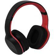 Headphone Bluetooth Groove Fone De Ouvido Vermelho 7 Horas Reprodução Microfone Embutido Acolchoado Xtrax Novo
