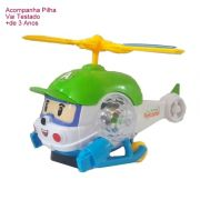 Helicóptero Bate E Volta Com Som E Luz