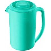 Jarra De Água 2 Litros Com Tampa Para Servir Bebidas Suco Chá Garrafa Plástico Resistente Verde Pode Ir No Freezer Micro-ondas Lava-louças Sanremo