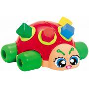 Joaninha Blocos De Encaixar Forminhas Coloridas Brinquedo Infantil Smoby Atividades Bebê Educativo Menino Menina Gulliver Original