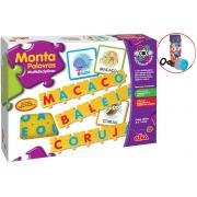 Jogo Brinquedo Infantil Monta Palavras Multidisciplinar Pedagógico Bolhas De Sabão Educativo Alfabeto Português Menino Menina Elka