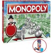 Jogo De Tabuleiro Monopoly Estratégia Para A Família Divertido 2 À 6 Jogadores Bolhas De Sabão Lançamento Hasbro