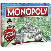 Jogo De Tabuleiro Monopoly Estratégia Para A Família Divertido 2 À 6 Jogadores Lançamento Hasbro