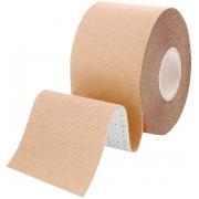 Kinesio Tape Fita Bandagem Elástica Adesiva Rolo 5cm x 5m Funcional Fisioterapia Muscular Esporte Musculação Evita Lesões Resistente A Umidade