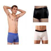 Kit Com 3 Cuecas Masculinas Box Boxer