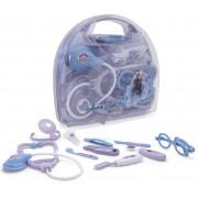 Kit Médico Maleta Frozen 2 Brinquedos De Meninas Acessórios Plástico Divertido 10 Peças Infantil Novo