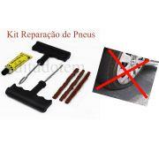 Kit Reparação de Pneus Tubulares - Moto Carro Bicicleta