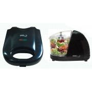 Kit Sanduicheira Antiaderente Grill EPV-828 + Mini Processador De Alimentos EPV-86 Vicini