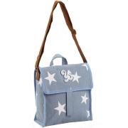 Lancheira Termica Feminina Juvenil Bolsa Transversal Impermeável Escolar Cooler Infantil Menina Azul Estrela Resistente Seanite