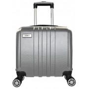 Mala Pequena Executivo Laptop Rigido Prata 360° Maleta Yins YS21014PA Mala ABS