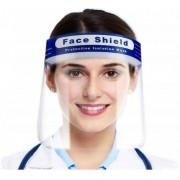 Máscara De Proteção Facial Viseira Transparente Contra Respingo Reutilizável Com Elástico Face Shield