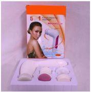 Massageador De Esfoliação E Limpeza  Facial 5x1