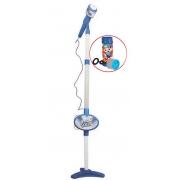 Microfone Infantil Star Voice Pedestal Com Luz Som Brinquedo Musical Karaokê Menino Menina Regulável Adaptação Para Celular ZP00220 Zoop Toys