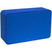 Mini Caixa De Som Bluetooth Portátil Bateria Recarregável 5W Azul Pequena Entrada Cartão TF Auxiliar USB Moderna Atende Ligação Xtrax X500