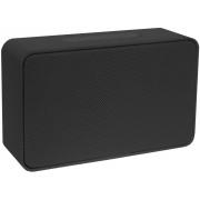 Mini Caixa De Som Bluetooth Portátil Bateria Recarregável 5W Preto Pequena Entrada Cartão TF Auxiliar USB Moderna Atende Ligação Xtrax X500