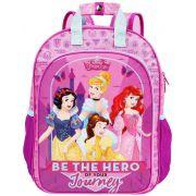 Mochila Escolar G Costas Princesas Infantil Menina Rosa Resistente Dermiwil