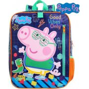 Mochila Escolar George Peppa Pig Infantil Menino Impermeável Costa Grande Masculino Reforçada Dermiwil