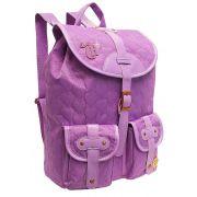 Mochila Escolar Notebook Capricho Love Purple Dermiwil