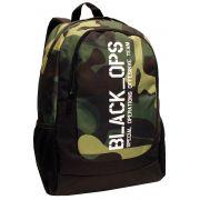Mochila Escolar Resistente Jovem Camuflada Black OPS Menino Notebook DMW