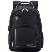 Mochila Executiva Notebook 15,6'' Tablet Impermeável + Carregador Portátil Maideng  Entrada Usb e Fone De Ouvido Cabo Aço