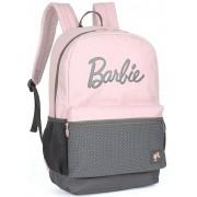 Mochila Feminina Escolar Da Barbie Juvenil Rosa Impermeável Grande Costa Lançamento Luxcel Nova