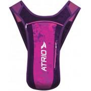 Mochila Hidratação Impermeável C/ Bolsa D'água Bike Reservatório 1,5 Litros Ciclismo Feminina Alça Em Tela Atrio Sprint Rosa