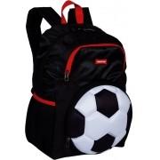 Mochila Infantil Futebol Bola Escolar Grande Costas Impermeável Menino Resistente Lançamento Sestini