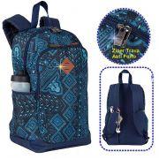 Mochila Sestini Magic Etnico  Jeans Moderna Notebook Anti Furto Roubo - 075517-28
