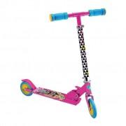 Patinete Infantil Brinquedos de Meninas Barbie Fabuloso Regulagem De Altura Dobrável Fun
