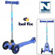 Patinete Infantil Sport Twist 3 Rodas Azul Freio Estabilidade