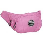 Pochete Bolsa Transversal Feminina Várias Divisórias Blogueira Rosa Resistente Up4you Lançamento Luxcel
