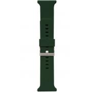 Pulseira De Silicone Verde Oliva Para Substituição Relógio Inteligente Smartwatch Avulsa 275mm Masculina Feminina Xtrax