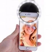 Ring Light Selfie Luz Suporte Para Celular Usb 5V Bateria 1.5V Maquiagem Iluminação Anel