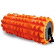 Rolo Academia Para Exercicios Liberação Miofascial 3 em 1 Reabilitação Muscular Bastão Massageador Fortalece Musculatura Equilíbrio Flexibilidade