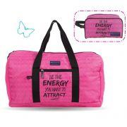 Sacola Feminina Sport Academia Gabriela Pugliesi Rosa Pink Necessaire Energy G