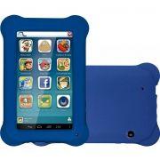 Tablet Multilaser Kid Pad Azul Quad Core Dual Câmera Wi-Fi Tela 7'  Memória 8GB - NB194 - Original