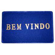 7f9b297299f Tapete Capacho Bem-vindo PVC Antiderrapante