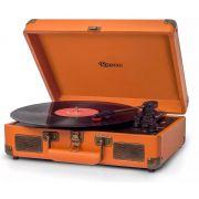 Toca Discos  Raveo Sonetto Gravação Com Usb Bluetooth Caramelo