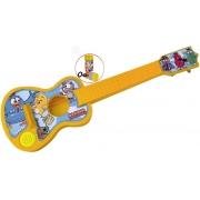 Violão Com Cordas Galinha Pintadinha Com Música Menino Menina Bolhas De Sabão Instrumento Musical Infantil Brinquedo Educativo Criança +3 Anos Elka