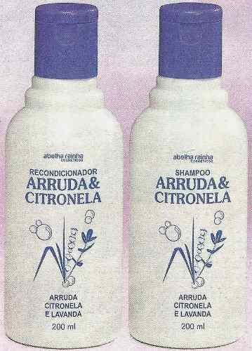Kit Piolho Shampoo e Condicionador  - Abelha Rainha - Arruda & Citronela