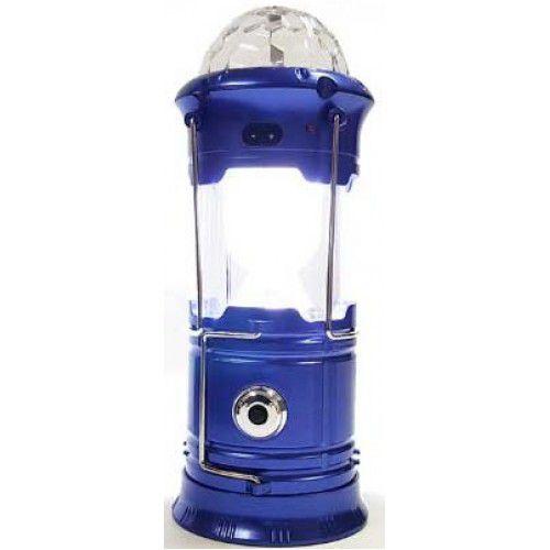 3 em 1 Lampião Lanterna lâmpada Mágica Colorida em Led