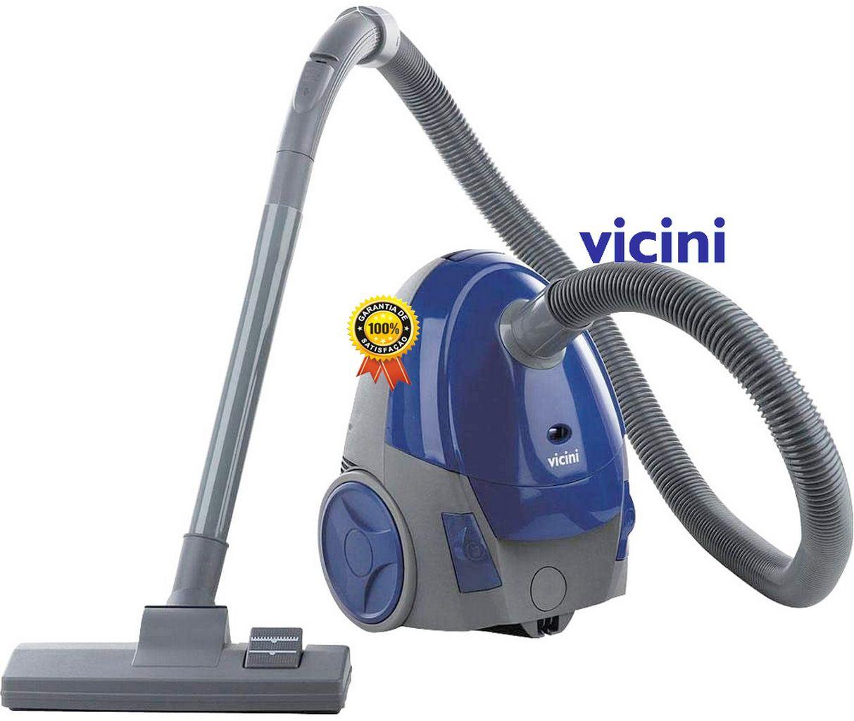 Aspirador de Pó Robô Com Filtro Duplo Vicini 1.200 Watts - VCL-002