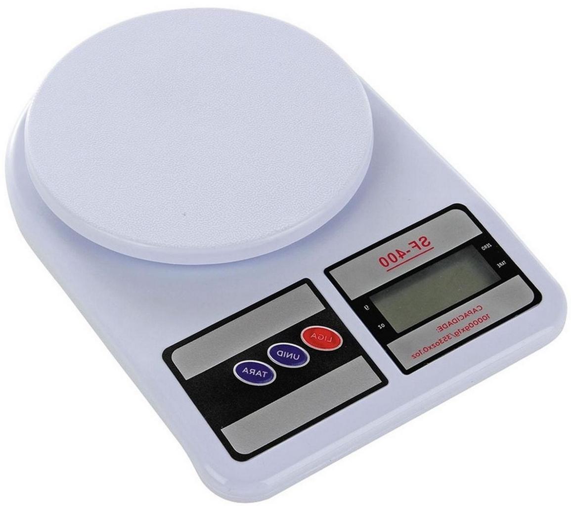 Balança De Cozinha Digital Eletrônica De Precisão Dieta Alimento Até 10kg Sf-400